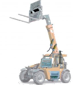 onboard weighing telescopic handlers
