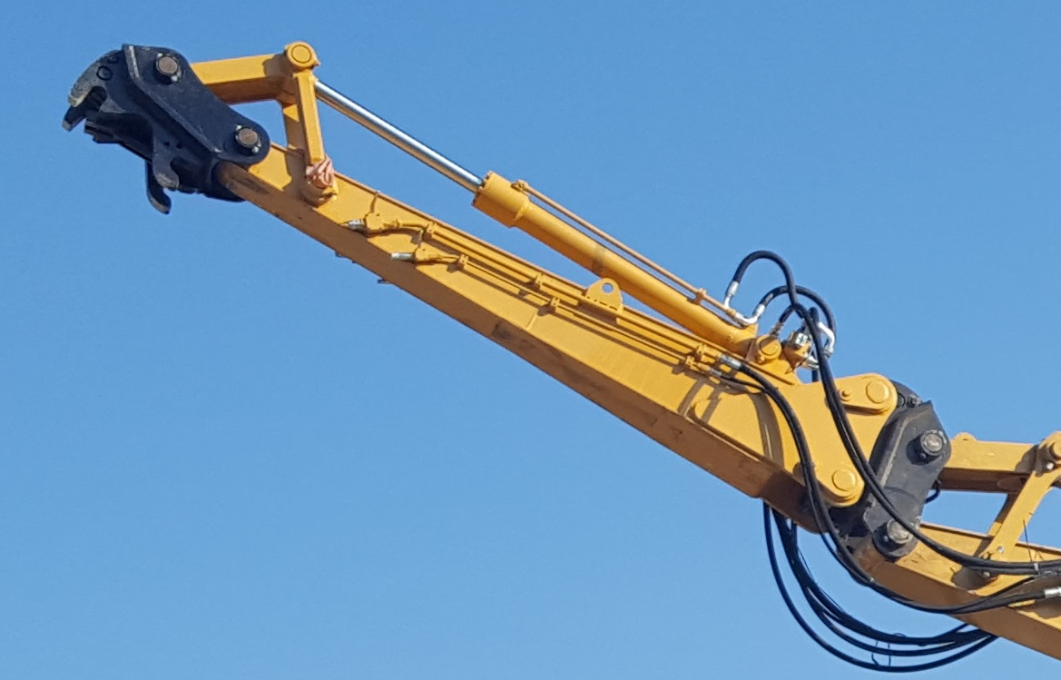 excavator dipper extension arms