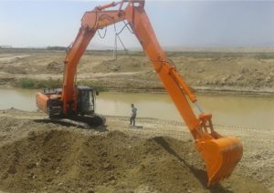 excavator extension arm