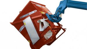 cow bedding sawdust spreader