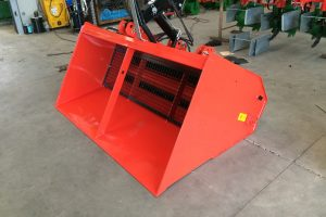 salt and sand excavator spreader