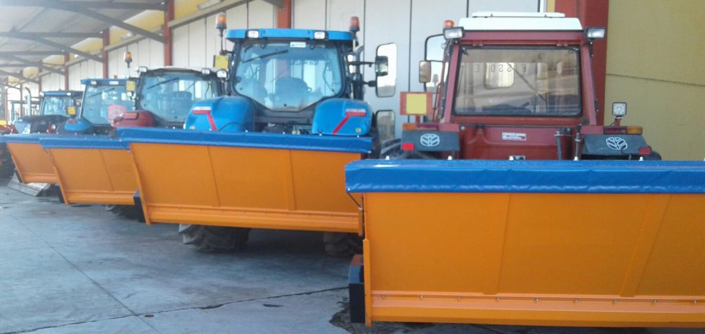 excavator spreaders