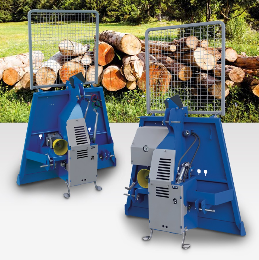 forestry tractor winches