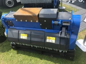 Forestry Mulcher on display at a show