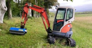 Robustrack flail mowers/mulchers